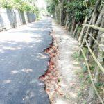 বরুড়া-আডডা-কচুয়া সড়ক মেরামতে ব্যাপক অনিয়ম