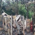 চৌদ্দগ্রামে ভয়াবহ অগ্নিকাণ্ডে চার ঘর পুড়ে ছাই, লক্ষাধিক টাকার ক্ষতি