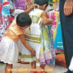 ঈদের কেনাকাটায় কুমিল্লা কাপড়ের দোকানে ক্রেতাদের ভিড়