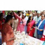 চৌদ্দগ্রামে কৃষি মেলার উদ্বোধন করলেন রেলমন্ত্রী মুজিবুল হক