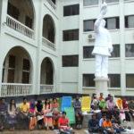 কুবিতে দুর্নীতির বিরুদ্ধে এবার শিক্ষকের পাশে শিক্ষার্থীদের অবস্থান