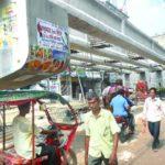 শাসনগাছা ফ্লাইওভার নির্মাণে ধীরগতিতে ভোগান্তিতে কুমিল্লাবাসি