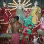 চান্দিনার ৬৪ পূজামন্ডপে চলছে দুর্গোৎসবের প্রস্তুতি