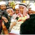 বিশ্বজয়ী হাফেজ কুমিল্লার মুরাদনগরে মামুনকে বিমানবন্দরে নাগরিক সংবর্ধনা