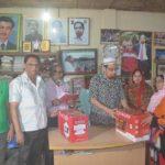 প্রতিবন্ধীদের সেলাই মেশিন ও ক্যান্সার আক্রান্ত রোগিদের চিকিৎসা সহায়তা প্রদান