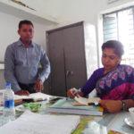 ছেংগারচর পৌর ভূমি অফিস ইউএনও'র পরিদর্শণ