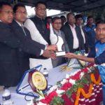 মাদকের বিরুদ্ধে প্রীতি ফুটবলে দাউদকান্দিকে হারিয়ে কুমিল্লা জেলার জয়লাভ