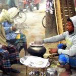 মতলব উত্তরে শীতের শুরুতে জমে উঠেছে ভাপা পিঠার বাজার
