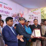 উন্নয়ন মেলায় ৫ম সেরা স্টল নির্বাচিত হয়েছে জেলা তথ্য অফিস