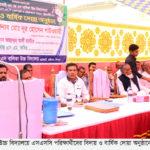 হাইমচর এম জে এস বালিকা উ'বি'র এসএসসি পরিক্ষার্থীদের বিদায় অনুষ্ঠান