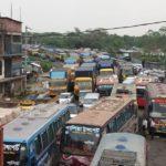 ঢাকা-চট্টগ্রাম মহাসড়কের ৩৩ কিঃমিঃ অংশজুড়ে যানজট