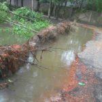 মনোহরগঞ্জের দেবপুর-পোমগাঁও রাস্তাটি মরণফাঁদ, দুর্ভোগে ৫ গ্রামবাসী