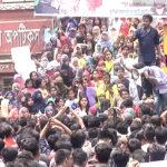 কোটা প্রথা সংস্কারের দাবিতে কুমিল্লায় অবস্থান কর্মসূচি