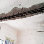 নবীনগরে বিদ্যালয়ের ছাঁদ ধসে ছাত্র ও শিক্ষক আহত