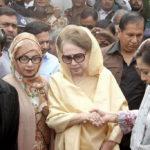 কুমিল্লার নাশকতার দুই মামলায় খালেদার ৬ মাসের জামিন