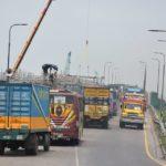 মহাসড়কের কুমিল্লা অংশে যানজট কমছে