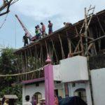 দেবপুর বায়তুল আমান জামে মসজিদ দ্বিতল ভবন উন্নয়ন কাজ উদ্বোধন