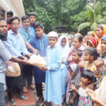দেবিদ্বারে মুক্তিকামী নেতা বিল্লাল হোসেন'র নিজ উদ্যোগে ঈদ সামগ্রী বিতরণ অনুষ্ঠিত