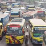 কুমিল্লার দাউদকান্দিতে ২০ কিলোমিটার এলাকাজুড়ে তীব্র যানজট
