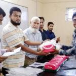 বি-বাড়িয়া ম্যাটস্ কুমিল্লার উদ্যোগে শিক্ষা সামগ্রী প্রদান ও আলোচনা সভা অনুষ্ঠিত