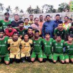 বঙ্গবন্ধু  জাতীয় গোল্ডকাপ ফুটবল টুর্নামেন্টের ফাইনালে কুমিল্লা সিটি কর্পোরেশন