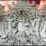 কুমিল্লায় ব্যাস্ত সময় পার করছেন প্রতিমা শিল্পীরা, শেষ মুহুর্তে চলছে রং তুলির কাজ
