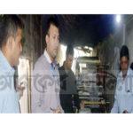 কুমিল্লা বিসিকে অবৈধ পলিথিন তৈরীর কারখানায় অভিযান