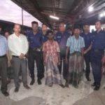 কুমিল্লা রেলওয়ে স্টেশনে ভ্রাম্যমান আদালতের অভিযান