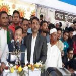 কুমিল্লায় রেলমন্ত্রীর নির্বাচনী সমাবেশ