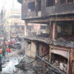 পুরান ঢাকার অগ্নিকান্ডে ৮১জন নিহত, শতাধিক আহত, ৩৬ জন নিখোঁজ