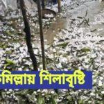 হঠাৎ শিলাবৃষ্টি, ফসলের ক্ষতির আশঙ্কা কুমিল্লায়