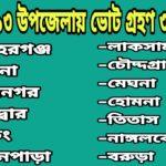 কুমিল্লা ১৩ উপজেলায় ভোট গ্রহণ ৩১ মার্চ