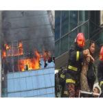 বনানীতে ভয়াবহ অগ্নিকান্ড: নিহত ৩, আহত বহু, উদ্ধারকাজ চলছে