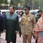 মহান স্বাধীনতা দিবসে কুমিল্লায় শহীদদের প্রতি শ্রদ্ধা নিবেদন