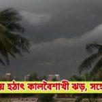 কুমিল্লায় হঠাৎ কালবৈশাখী ঝড়, সঙ্গে শিলাবৃষ্টি