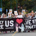 'ভালবাসার পদযাত্রা' নিউজিল্যান্ডে নিহতদের শ্রদ্ধা জানিয়ে