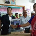 কুমিল্লার দাউদকান্দিতে ১০৩টি প্রাথমিক বিদ্যালয়ে প্রজেক্টর ও সাউন্ড সিস্টেম বিতরন