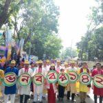 পহেলা বৈশাখে বর্ণিল  কুমিল্লা ভিক্টোরিয়া কলেজ