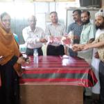 চাঁদপুরের নবাগত শিক্ষা অফিসারকে ফুলেল শুভেচ্ছা