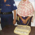 ব্রাহ্মণপাড়ায় গাজাসহ নারী মাদক ব্যবসায়ী গ্রেফতার