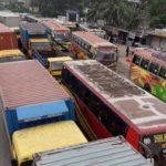 ঢাকা-চট্টগ্রাম মহাসড়কে ৩৩ কিলোমিটার এলাকায় তীব্র যানজট