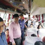 কুমিল্লা মহাসড়কে অতিরিক্ত ভাড়া আদায়কারি যানবাহনকে জরিমানা
