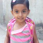 বিত্তবানদের সহযোগীতায় চৌদ্দগ্রামের ক্যান্সারে আক্রান্ত শিশু তানহা বাঁচতে চায়