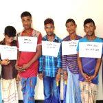 কুমিল্লা নগরীতে ৫ ছিনতাইকারীর সাজা