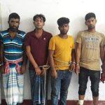 হোমনায় আন্ত:জেলার ৫ ডাকাত গ্রেফতার,  চুরি হওয়া ২টি গরু উদ্ধার