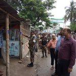 কুমিল্লা সিভিল সার্জন অফিস সংলগ্ন সার্কুলার রোডে অবৈধ স্থাপনা উচ্ছেদ