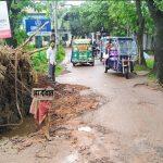 ব্রাহ্মণপাড়ায় কয়েকদিনের লাগাতার বর্ষণে ব্যাপক ক্ষয়ক্ষতি