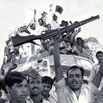কুমিল্লায় মুক্তিবাহিনী পাকহানাদারদের নয়নপুর ঘাঁটি আক্রমণ করে