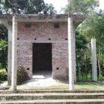 বরুড়ায় অর্থ সংকটে ১৫ বছরেও মন্দিরের কাজ অসমাপ্ত