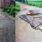 কুমিল্লায় গ্রামীণ সড়কগুলোর বেহাল অবস্থা, চলাচলে দুর্ভোগ